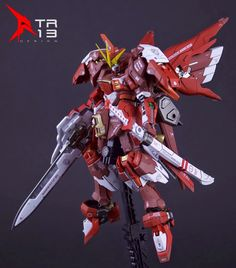 GUNDAM GUY: RG 1/144 Build Infinite Astray Gundam [ISSRED] - Custom Build