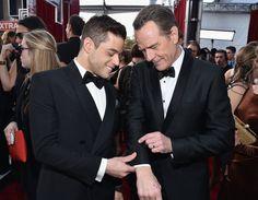 Pin for Later: 70 Choses Qui Ont Eu Lieu aux SAG Awards et Que Vous Avez Probablement, Définitivement Manqué  Bryan Cranston et Rami Malek