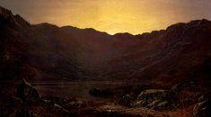 John Atkinson Grimshaw - The Heron's Haunt, 1874