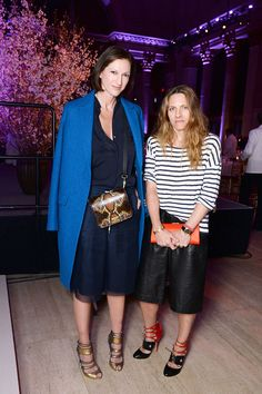 Jenna Lyons and Courtney Cranghi at The Center 2015.