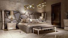 Bed Headboard Design, Bedroom Door Design, Bedroom Furniture Design, Luxury Furniture, Antique Furniture, Outdoor Furniture, Modern Luxury Bedroom, Luxury Bedroom Design, Luxurious Bedrooms