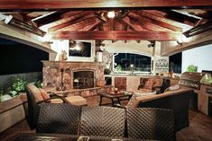 outdoor rooms with fireplaces | Western Outdoor Design, is your contractor for any outdoor living ...
