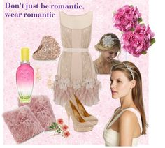 """""""Don't just be romantic, wear romantic"""" by crisoca ❤ liked on Polyvore"""