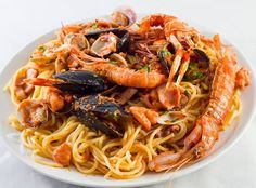 spaghetti di mare #ricettedisardegna #recipe #sardinia