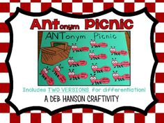 My newest anchor chart focuses on syonyms and antonyms:          As an ELL teacher for grades 3-5, I created this anchor chart as part o...