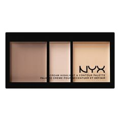 Cream Highlight & Contour Palette - Light - NYX