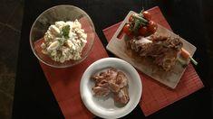 V některých domácnostech je zvykem i na Velikonoce podávat domácí bramborový salát. S uzeným kolenem chutná výtečně. Podle tohoto rece
