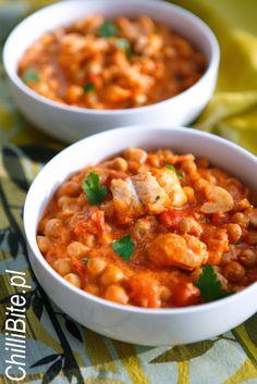 ChilliBite.pl - motywuje do gotowania! Świetne przepisy, autorskie zdjęcia i dobra energia :): Curry z ciecierzycą i rybą