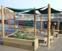 Image result for outdoor classroom tarp