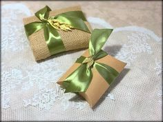 Rustic favor gift bag.Rustic favor wedding by RaniaCreations