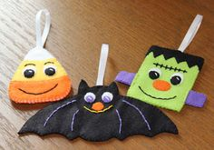 The Sassy Pack Rat: Click to Come Join My Fun FREE Felt Halloween Ornament Pattern Club!