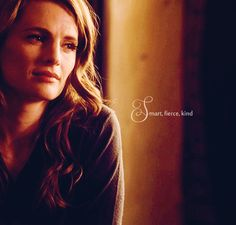 Kate Beckett- Kicking ass, taking names, and never musing up her hair in the process