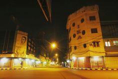 21 November 2015. Pertigaan Pasar Besar. Kota Malang