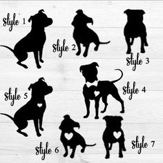 Pitbull, Pitbull Decal, Pitbull Car Decal, Pit Decal, Pitbull Heart, Love Pitbulls, Gifts for Animal Lovers, Pitbull Rescue, Adopting