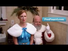 Poo Pourri is a great product that helps mask the smell of your poo. The folks at Poo Pourri are convinced everyone needs this, even Santa. Poo Pourri, Christmas Ad, Christmas Videos, Magical Christmas, Father Christmas, Christmas Morning, Holiday, Poop Jokes, Got Busted