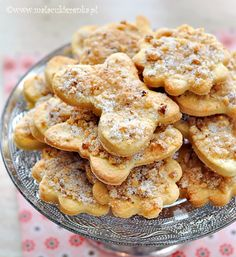 Visit the post for more. Cookie Swap, Cookie Jars, Polish Recipes, Polish Food, Shortbread Cookies, Bon Appetit, Biscuits, Food And Drink, Favorite Recipes