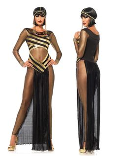 Egypt Cleopatra Goddess Roman Egyptian Ladies Halloween Fancy Dress Costume  8022 8a200109feb