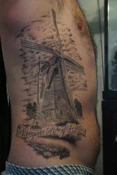 new traditional windmill tattoo sketch by ranz pinterest get a tattoo love this and. Black Bedroom Furniture Sets. Home Design Ideas