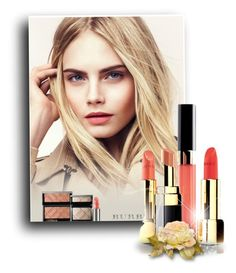 """1139"" by melanie-avni ❤ liked on Polyvore featuring beauty, Burberry and Chanel"