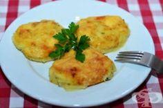 Запеканка от картофено пюре с млечна заливка и кашкавал - изображение