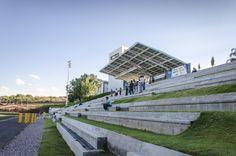 Borregos Stadium. Arkylab, Mauricio Ruiz. Aguascalientes, Mexico, 2012.