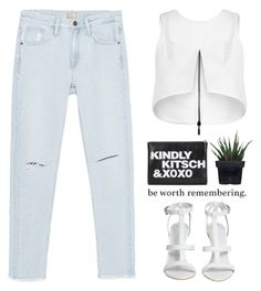 """- Do I wanna know ? -"" by lolgenie ❤ liked on Polyvore featuring Zara, Maticevski and Alöe"