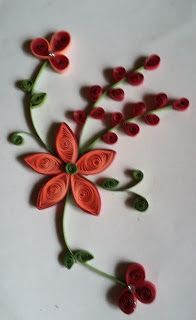 SayHiiToPaper: Quilled card design