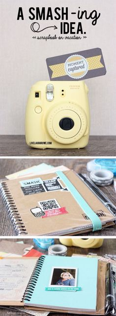 snap a pic and print - great for  scrapbooking