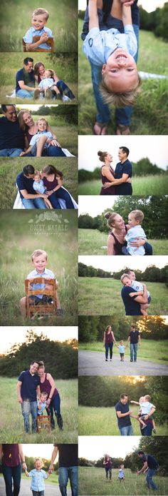 Family Photography Session - Family of 3 - Outdoor photo session - Frisco Photographer - Holly Natale Photography