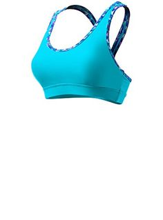 Tyr Sport Lunetta Racer Back Bra Blue Large >>> Click image to review more details.