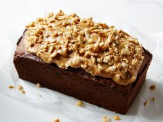 Peanut Butter Banana Bread recipe from Food Network Kitchen via Food Network