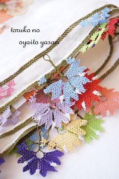 画像1: ◆極上オヤ◆キュタフヤ地方 華麗なイーネオヤスカーフ◆