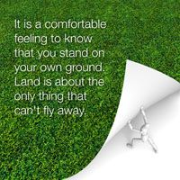 Offering Services of  Identification and land acquisition.