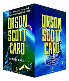 "The Ender Quartet Boxed Set: Ender's Gam - The Ender Quartet Boxed Set: Ender's Game, Speaker for the Dead, Xenocide, Children of the Mind (The Ender Quintet) by Orson Scott Card [caption id=""...  #OrsonScottCard #ScienceFiction"