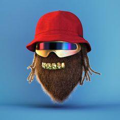 3D Funny Hip-Hop Characters – Fubiz Media