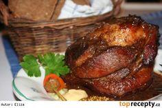 Marinované koleno podle Elišky Přemyslovny Pork Roast, Food And Drink, Turkey, Treats, Chicken, Minis, Apple Pie Cake, Cooking Recipes, Sweet Like Candy