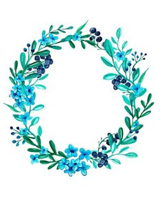 VK is the largest European social network with more than 100 million active users. Wreath Watercolor, Watercolor Flowers, Watercolor Paintings, Flower Circle, Flower Frame, Wedding Card Design, Wedding Cards, Pretty Pictures, Art Pictures