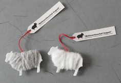 The cutest business cards for a yarn company PD