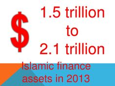 Estimates of assets of islamic financial services industry Islamic, Finance, Presentation, Industrial, Industrial Music, Economics