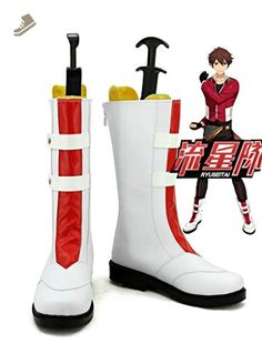Ensemble Stars Trickstar Morisawa Chiaki Cosplay Shoes Boots Custom Made - Telacos sneakers for women (*Amazon Partner-Link)
