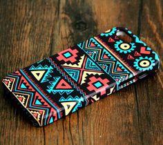 Navajo Aztec Pattern iPhone 6 Plus/6/5S/5C/5/4S/4 Rubber Case #108