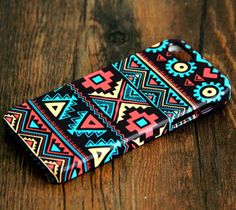 Navajo Aztec Pattern iPhone 6 Plus/6/5S/5C/5/4S/4 Rubber Case #108