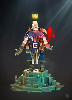 The Blue Sorcerer! on Behance