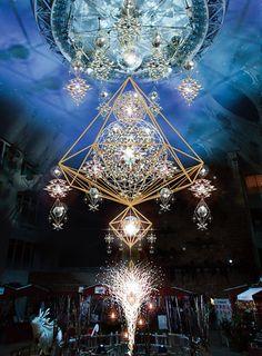 うめだ阪急に名物イルミネーション「ミラーボールヒンメリ」登場 - 北欧クリスマスマーケットも開催の写真1
