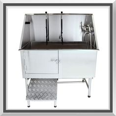 Mobile pet groomer serving all temecula valley grooming 62 professional stainless steel dog pet grooming bath tub with ramp solutioingenieria Gallery