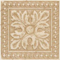 Tile Decorative Inserts Genova Listello 4 X 12 In  Bathroom  Pinterest