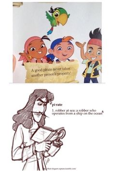 Jake and the Neverland pirates vs Peter Pan... I'm dying