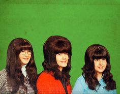 Not too much to say that big hair style roamed the earth during the 1960s. The bigger the hair, the more beautiful. It was a general trend f...