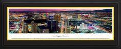 Las Vegas, Nevada City Skyline Panoramic Pictures & Posters