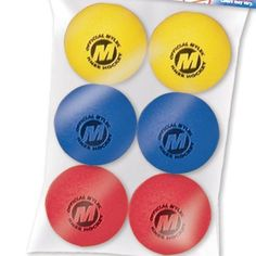 Mylec Mini Foam Ball (6-Pack) by Mylec. $6.39. Includes 6 mini foam replacement balls for knee hockey